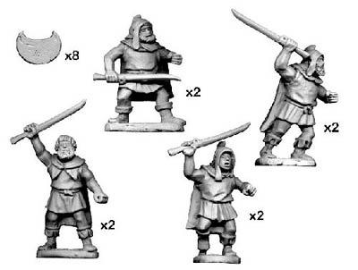 Thracian Tribesmen with Rhomphaia (8)