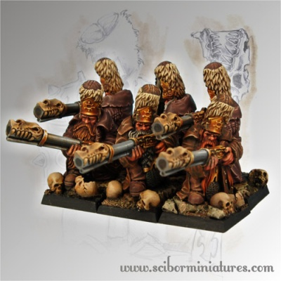 Strielecs set of 6 miniatures