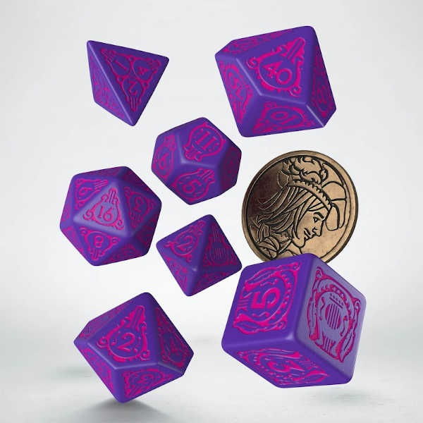 The Witcher Dice Set. Dandelion - The Conqueror of Heart (7)