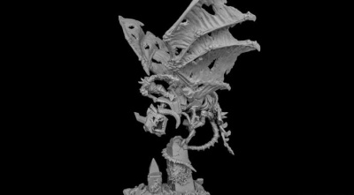 Drakskull's Menace Undead Wyvern