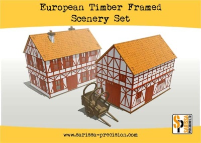 European Timber Frame Scenery Set