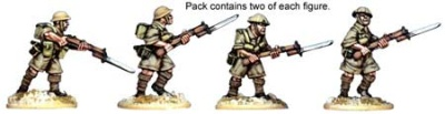 British 8th Army Riflemen (8)