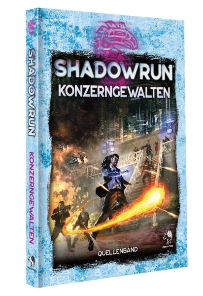 Shadowrun: Konzerngewalten (Hardcover)