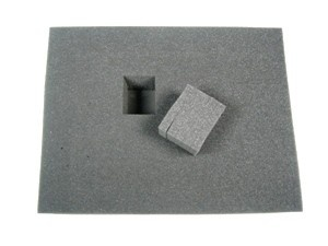 4 Inch Pluck Foam Large Tray (15,5x12)