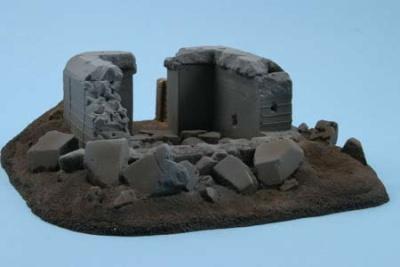 Bunker 33, zerstört