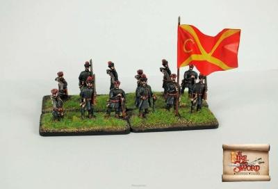 Saxon/town infantry (12)