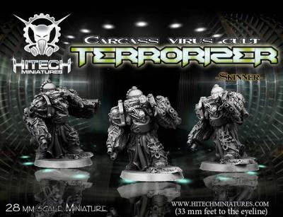 28mm Terrorizer  -Skinner-