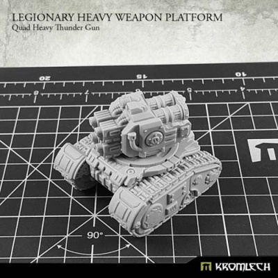 Legionary Heavy Weapon Platform: Quad Heavy Thunder Gun