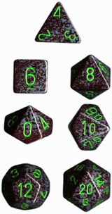 Chessex Earth Speckled 7-Die Set