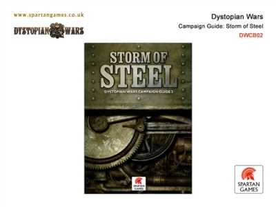 Dystopian Wars Campaign Guide: Storm of Steel