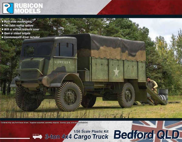 Bedford QLD Cargo Truck