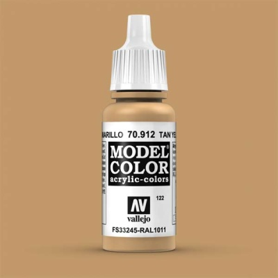 Model Color 122 Braungelb (Tan Yellow) (912)