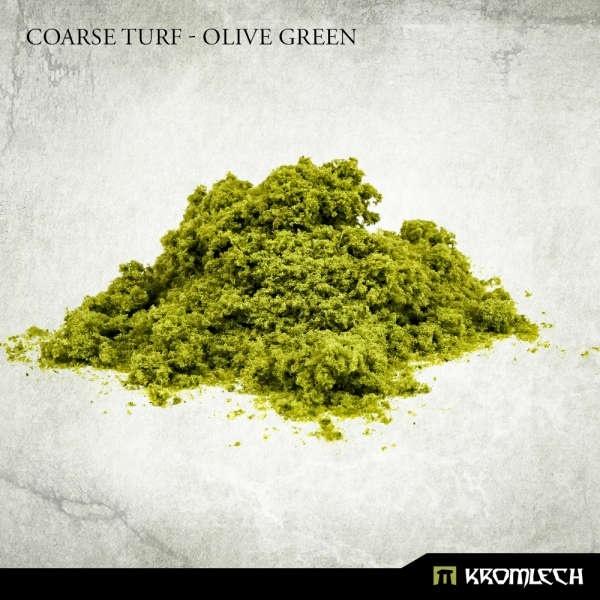 Coarse Turf - Olive Green