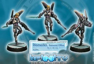 Diomedes, Ekdromoi Officer (Mk12, Nanopulser) (AL)
