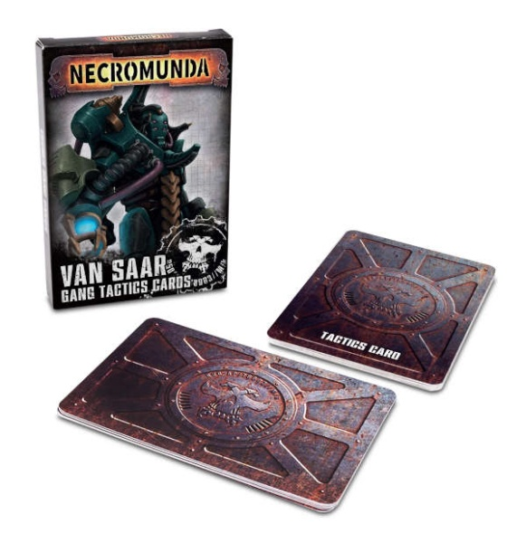 Necromunda: Van Saar Gang-Karten