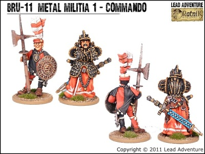 Metal Militia of Bruegelburg 1 - Commando (2)