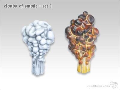Rauchwolken Set #1