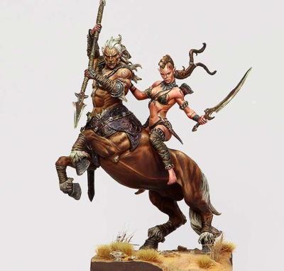 Centaur and Wild Elf
