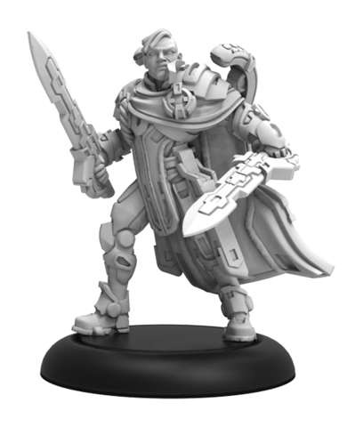 Justicar Voss - Warcaster Iron Star Alliance Hero Solo