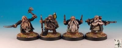 Dwarf rogues (4)