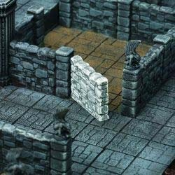 Dunkelstadt - Dungeon Element Raummauer (3)