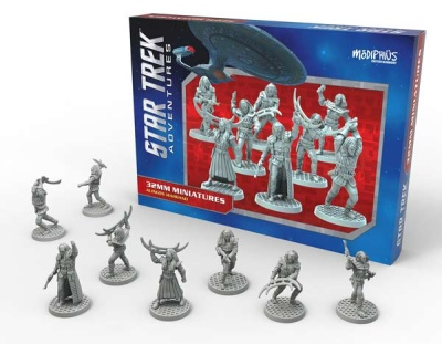 Star Trek Adventures Miniatures: Klingon Warband