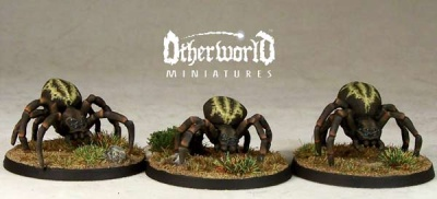 Large Spiders (3)