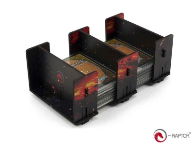 Board Game Card Holder - 2L FullPrint HDF Lava