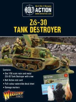 Soviet ZiS-30 Tank Destroyer OOP