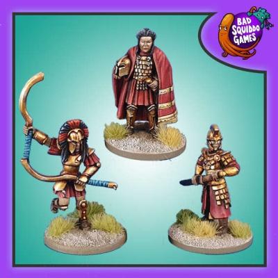 Amazon Captain and Bodyguards (3)