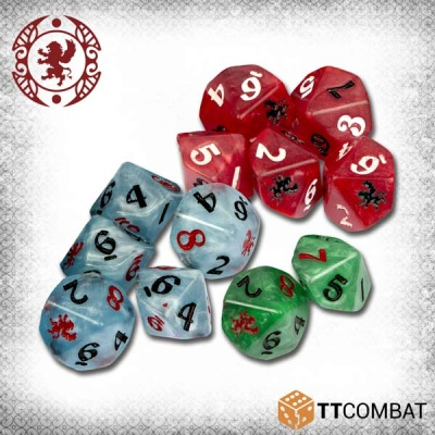 Carnevale Quick Play Dice (12)