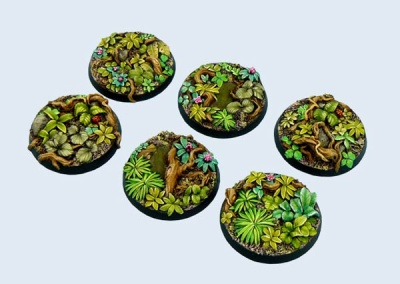 Jungle Bases, Round 40mm (2)