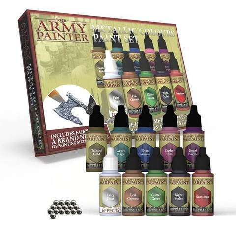 Metallic Colours Paint Set 2.