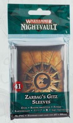 WHU: Zarbags Gitz-Kartenhüllen
