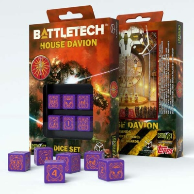 Battletech House Marik D6 Dice (6)