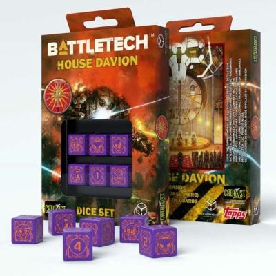 Battletech House Marik D6 Dice (6)
