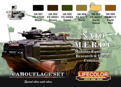"""Camouflage Set """"NATO M.E.R.D.C."""""""