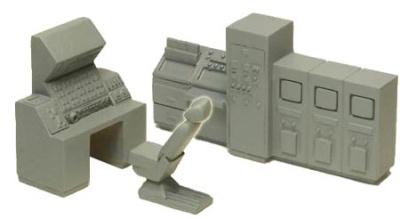 Missile Silo Control Room