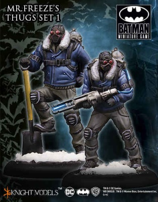Mr. Freeze Thug Set I (2)