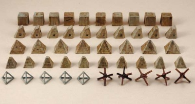 1:72 ITALERIE Antitank obstacles