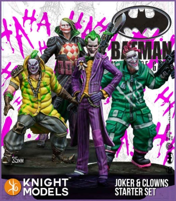 Joker and Clowns Starter Set (4)