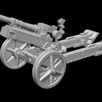 Gebirgsjäger 7,5 cm Gebirgsgeschütz 36