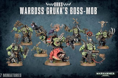Warboss Grukk's Boss Mob