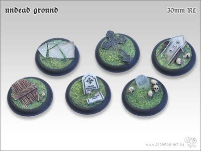 Undead Ground, 30mm Relief (5)
