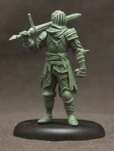 """Male Human Knight """"Hagen"""" (1)"""