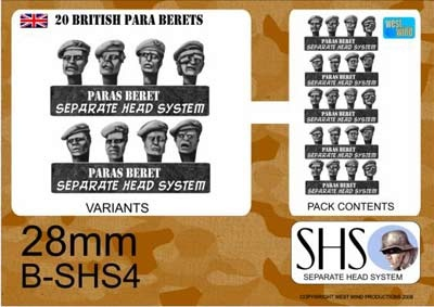 BRITISH PARAS IN BERETS
