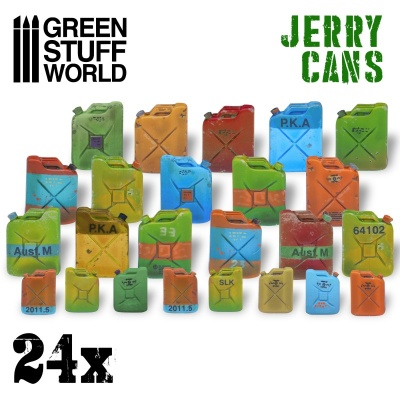 24x Resin Jerry Cans