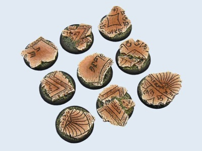 Shrine Bases, WRound 30mm (5)