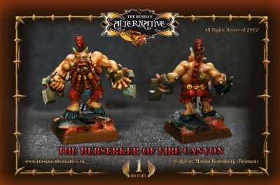 The Berserker of Fire Canyon (1) PLASTIC