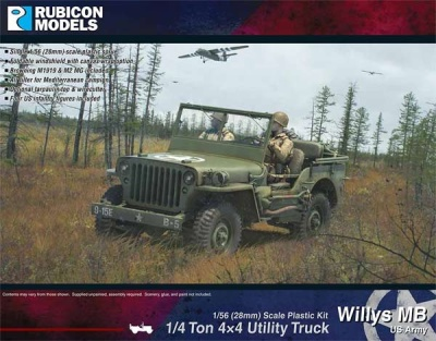 Willys MB + ton 4x4 Truck - US